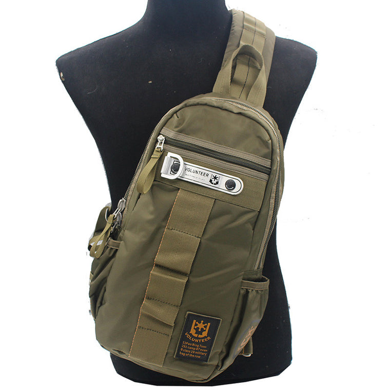 Men High Quality Waterproof Oxford Military Single Chest Day Back Pack Sling Shoulder Assualt Assault Cross Body Messenger Bag