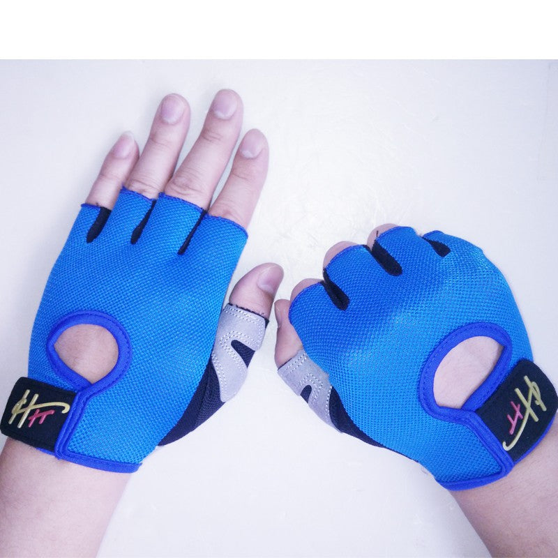 Half Finger Body Building Fitness Gym Gloves Crossfit Weight Lifting Gloves For women Men Bike Cycling Gloves Barbell Dumbbell