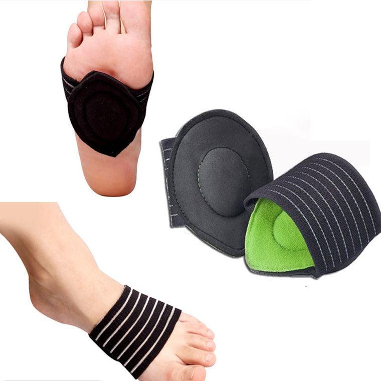 83d4e0fb4e 1pair Arch Support Foot Heel Pain Relief Fasciitis Insole Pads Arch Support  Shoes Insert