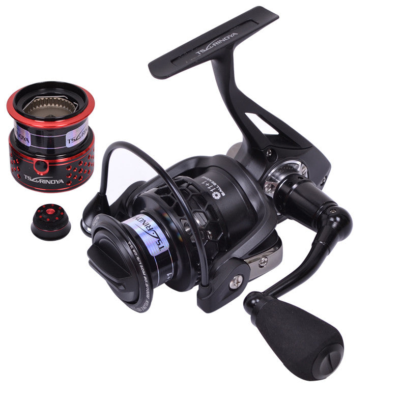 Full metal Tsurinoya TSP2000 12BB 5.2:1 260g 2 Spools Spinning Fishing Reel free shipping
