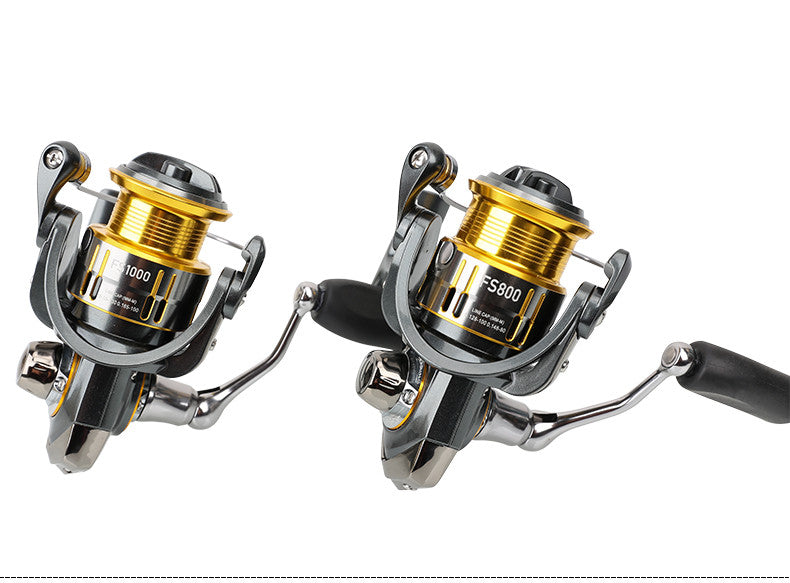 Tsurinoya spinning fishing reel FS800/1000,5.2:1,175/178g,free shipping