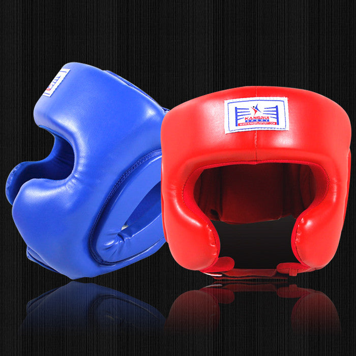 Wholesale! MMA Muay Thai Twins Boxing Headgear for Men Women Training Sparring In MMA TKD Fitness Equipment Grant Boxing Helmet