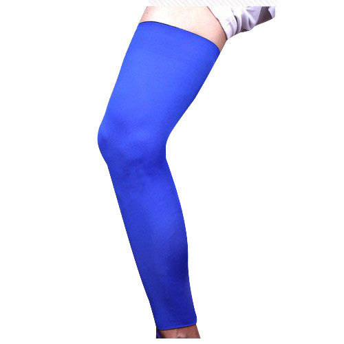 1 pcs Professional non-slip Leg Warmer Knee Running Basketball Legging high elastic breathable lengthened Leggings Outdoor Leg