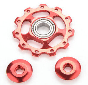 11T Aluminum Alloy Bicycle Rear Derailleur Jockey Wheel Road MTB Bike Guide Roller Idler Pulley Part Cycling Bike Accessories