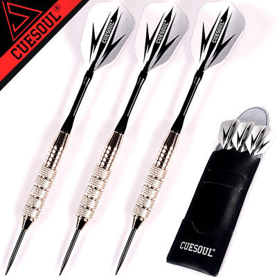 New 3pcs/set Professional Darts 24g 25g Black Golden Color Steel Tip Darts With Aluminum Darts Shafts