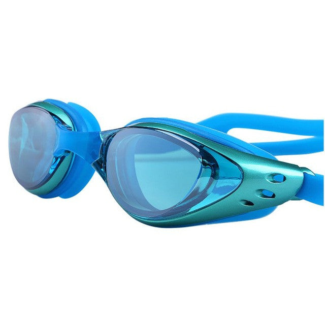 Swimming Waterproof Anti Fog UV Protection Adults Professional Colored Lenses Diving Glasses