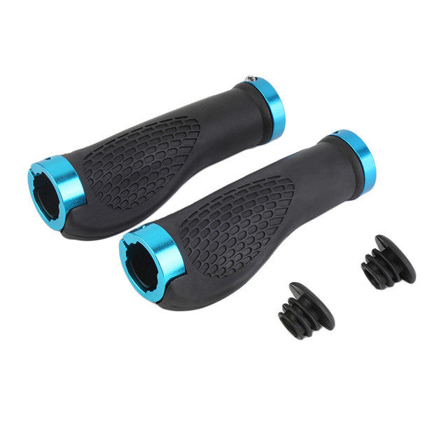 1 Pair MTB Road Cycling Skid-Proof Grips Anti-Skid Rubber Bicycle Grips Mountain Bike Lock On Bicycle Handlebars Grips Wholesell