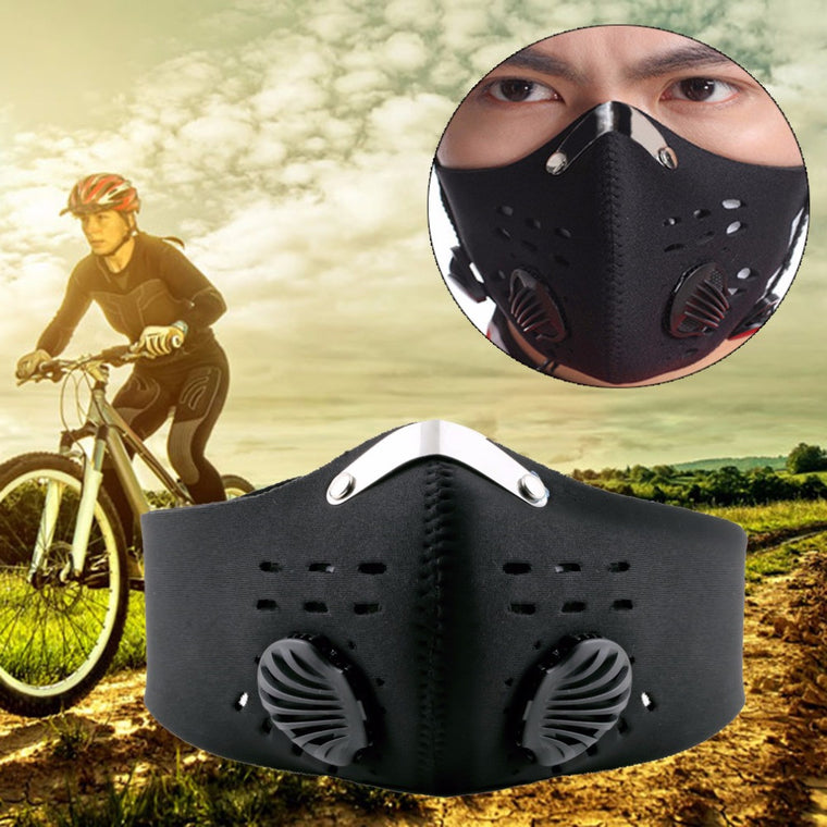 1pc Anti Dust Bicycle face mask filter Motorcycle Bicycle Cycling Racing Bike Ski Half Face Mask Filter Promotion