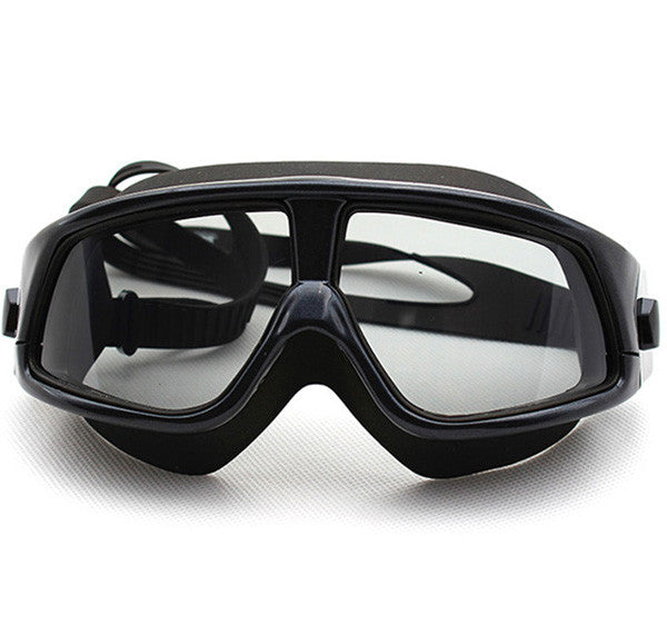 8e89cd835e4 ... COPOZZ Comfortable Silicone Large Frame Swim Glasses Swimming Goggles  Anti-Fog UV Men Women Swim ...