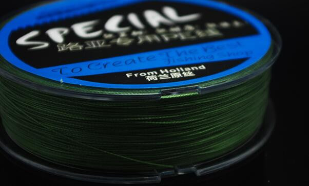 Best Quality 100m Lure Fishing Line 8 Braided Wire Super Wear-resistant Mainline Thread From Holland