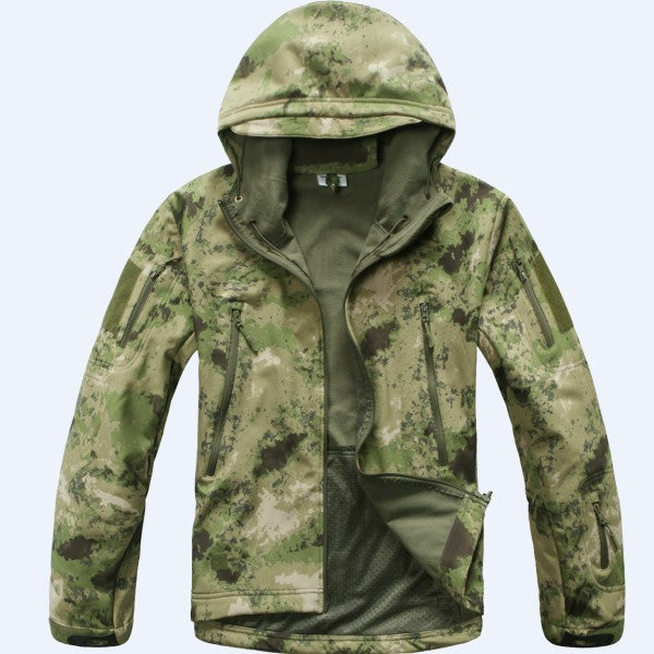 Best Quality Lurker Shark Skin Soft Shell V 4.0 Outdoor Military Tactical Jacket Waterproof Windproof Sports Hiking Coats