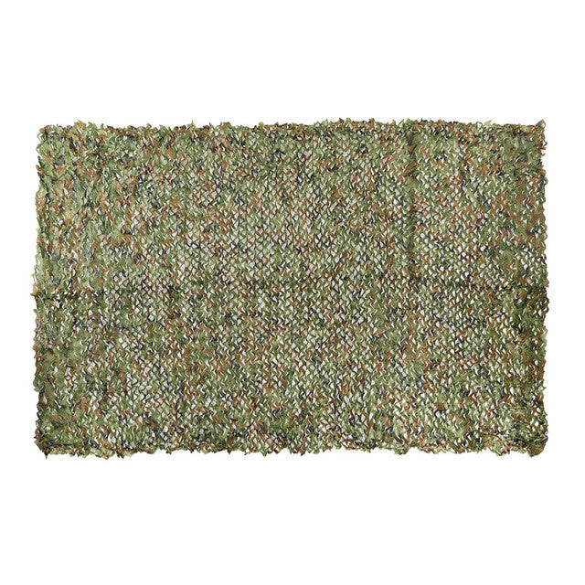 NEW 3*4M Camouflage net Camo For Hunting Camping Military Photography Jungle Camouflage NET for Car Covering Climbing hiking