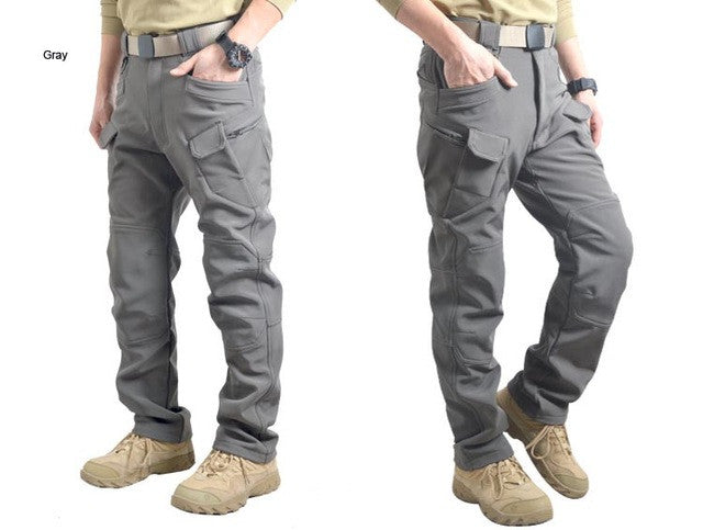 Man Winter Waterproof  IX7 Hunting Tactical SharkSkin Softshell Military Pant Windproof Outdoor Trousers Army Hiking Camping P43