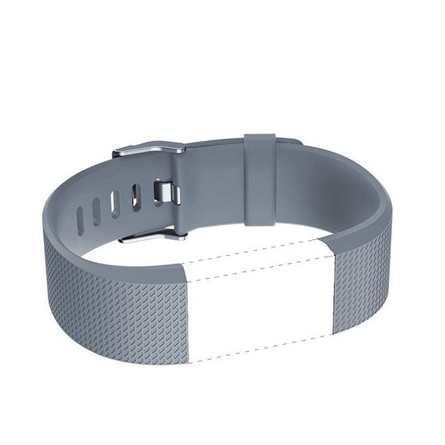 Soft Silicone Replacement Band for Smart Fitbit Charge 2 Heart Rate Fitness  Wristband Bands Straps Bracelet Belt DIY Accessories