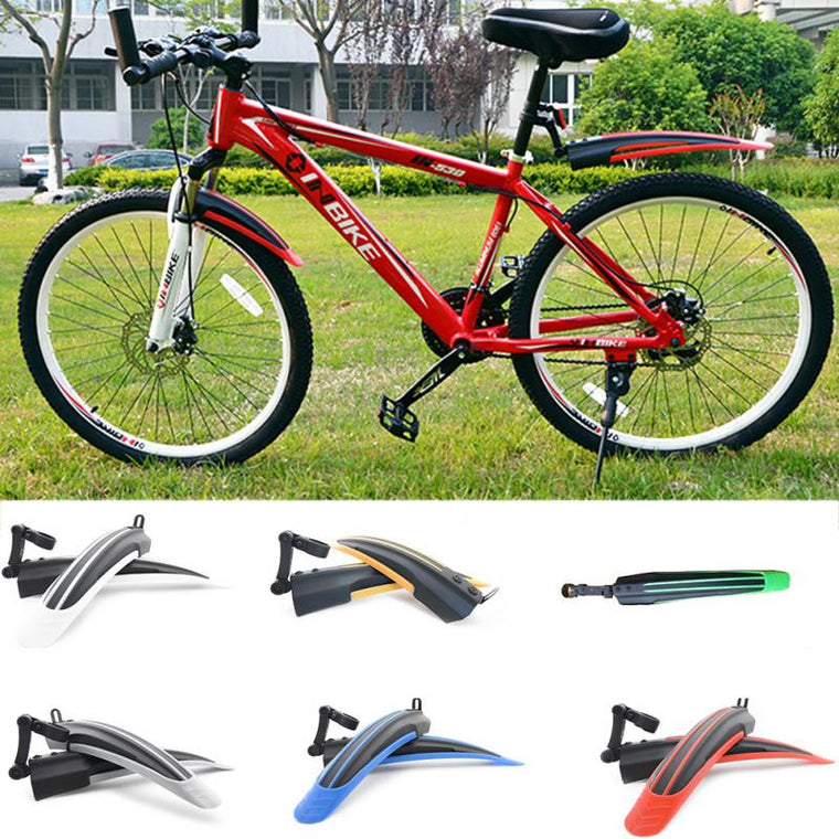 Hot Sale Bicycle Mudguard Mountain Bike Fenders Set Mud Guards Bicycle Mudguard Wings For Bicycle Front/Rear Fenders