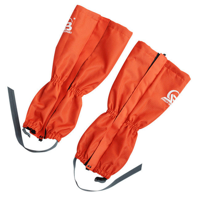 Theraml Fleece Outdoor Hiking,Trekking Warm Leg Gaiters Waterproof Climbing,Hunting Leg Cover 1 Pair