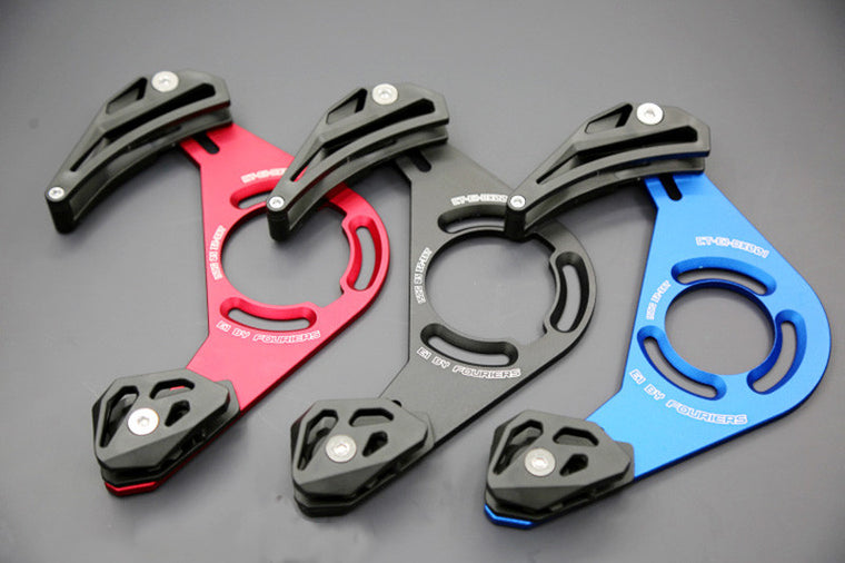 CNC Fouriers DH AM Chain Guide Bicycle Downhill Bash Guards Device Catcher 32-40T Perfect For 1*System ISCG ISCG 05