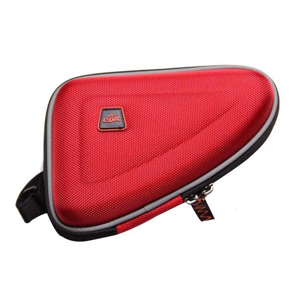 CBR Bicycle Bag Tube Bag MTB Road Bike Bag Waterproof 1.5L Outdoor Triangle Cycling Bicycle Tube Frame Bag Bike Pouch 3 Colors