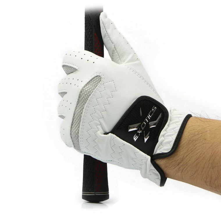 Golf Glove Men's Left Hand Soft Breathable Pure Sheepskin Golf Gloves Golf Outdoor sport accessories free shipping