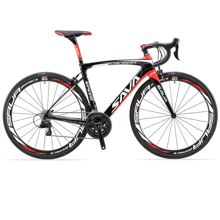 SAVA HERD6.0 700C Road Bike Carbon Bicycles Shimano 105 5800 Groupset Carbon Fiber Wheelset / Seatpost / Fork 22 Speed Bicicleta