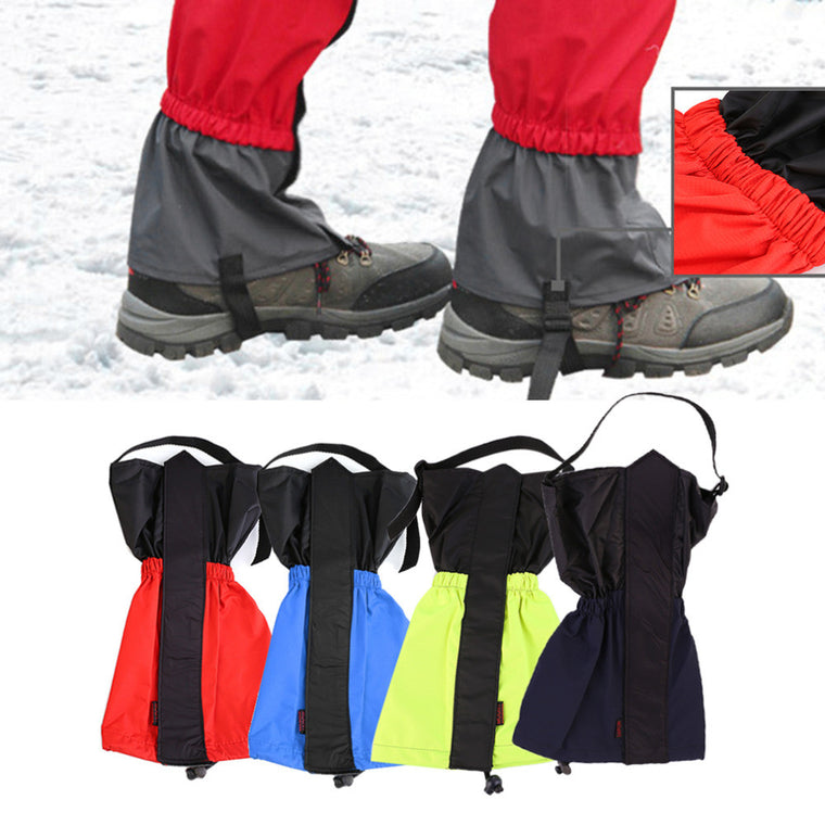 1 pair Hiking Gaiters Outdoor Waterproof Walking Mountain Hunting Trekking Desert Snow Legging Gaiters Hot Sale