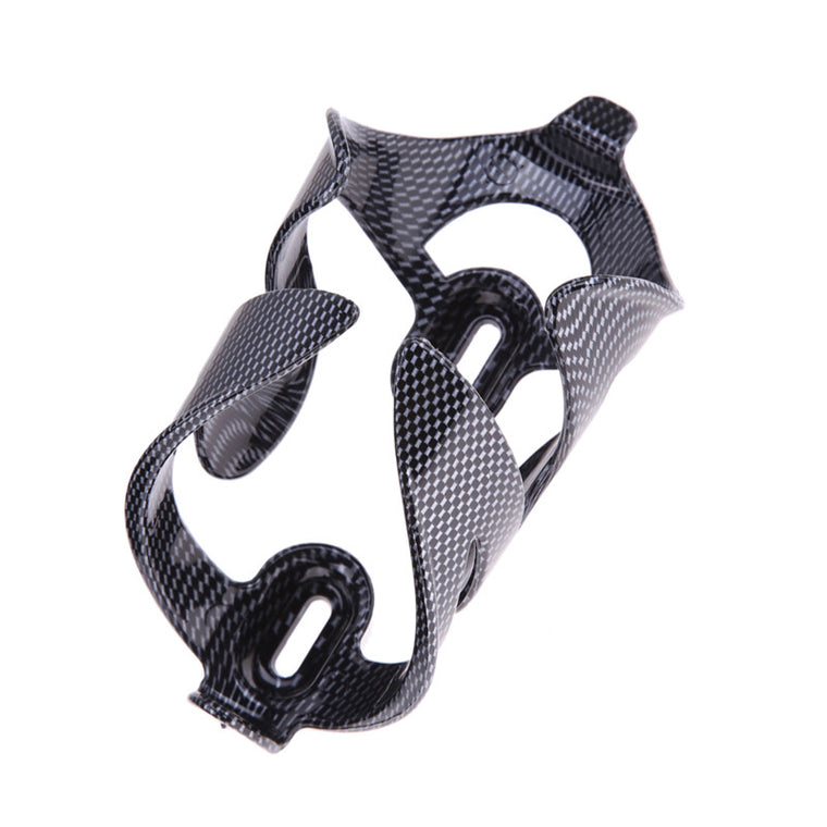 New Bicycle Bottle Cage Carbon Fiber Pattern Water Bottle holder Bicycle Bike Cycling Carbon Water Bottle Cage Holder H1E1