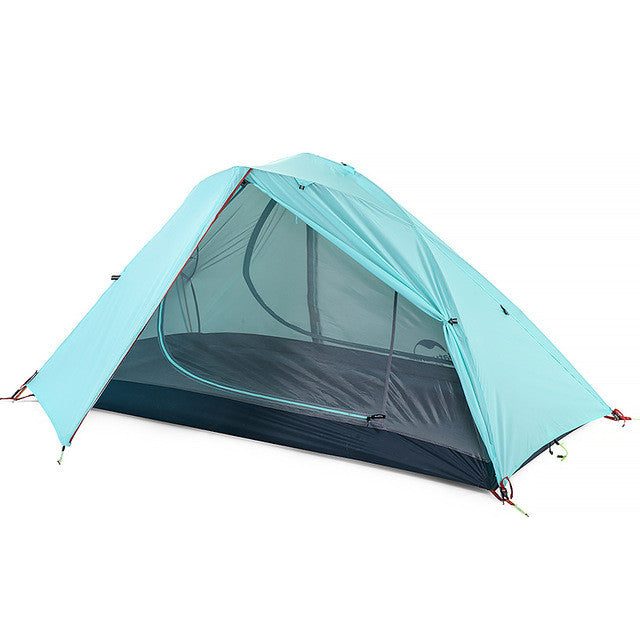 Naturehike 1-2 Person Camping Tent 3 Season Windproof Tent Outdoor Double Layer Waterproof Tent