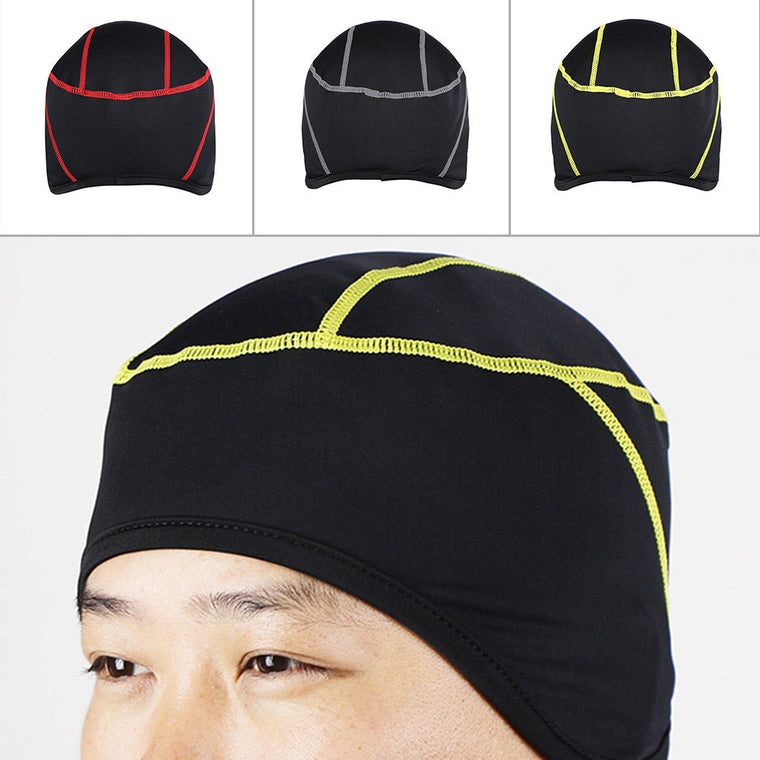 Winter Outdoor Sports Cool Stitching Design Hiking Skiing Bike Bicycle Cycling Helmet Headband Liner Windproof Face Mask Hat Cap