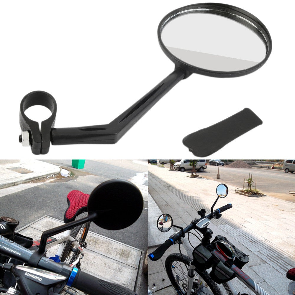 1 pcs 360 Degree Flexible Bicycle Bike Handlebar Rearview Vision Mirror Reflector Free Shipping
