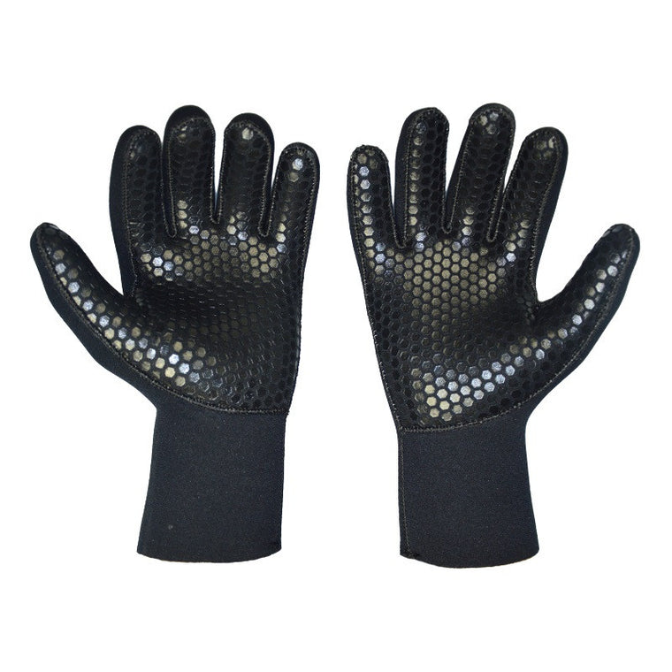 Black Men Women Diving Gloves 5mm Neoprene Scuba Diving Wetsuit Gloves Free Shipping DS-04