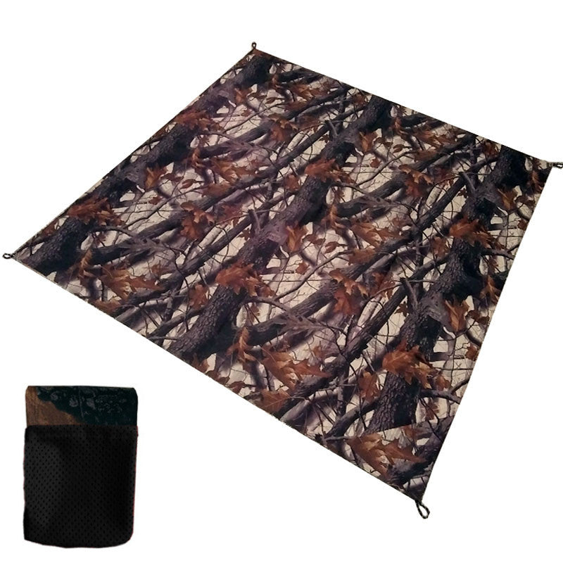 100*150cm Camping mat portable Outdoor amazing pocket mat Folding waterproof picnic beach mat baby play blanket with tent nails
