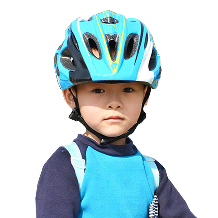 MOON Child Bicycle Helmet PC+EPS Integrally-mold Breathable Kids Cycling Helmet Road Mountain Bike MTB Helmet 260g Size M/L