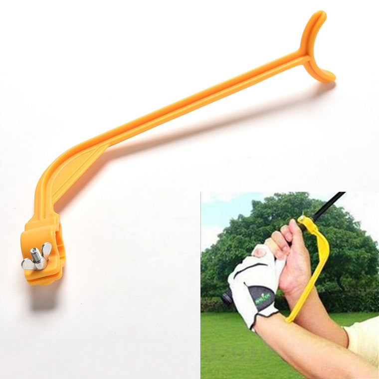 1Pc Golf Practice Swing Educational Trainer Guide Gesture Alignment Training Wrist Correct Aid Plane Tools Club