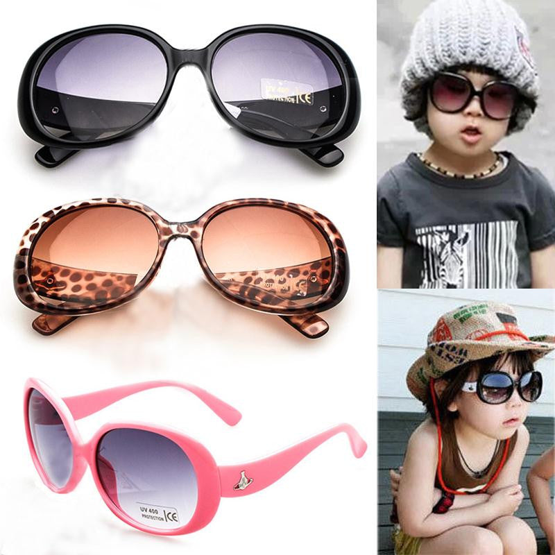 New Stylish Cute Baby Girls Kids Sunglasses Glasses Shades Eyewear For Children Drop Shipping