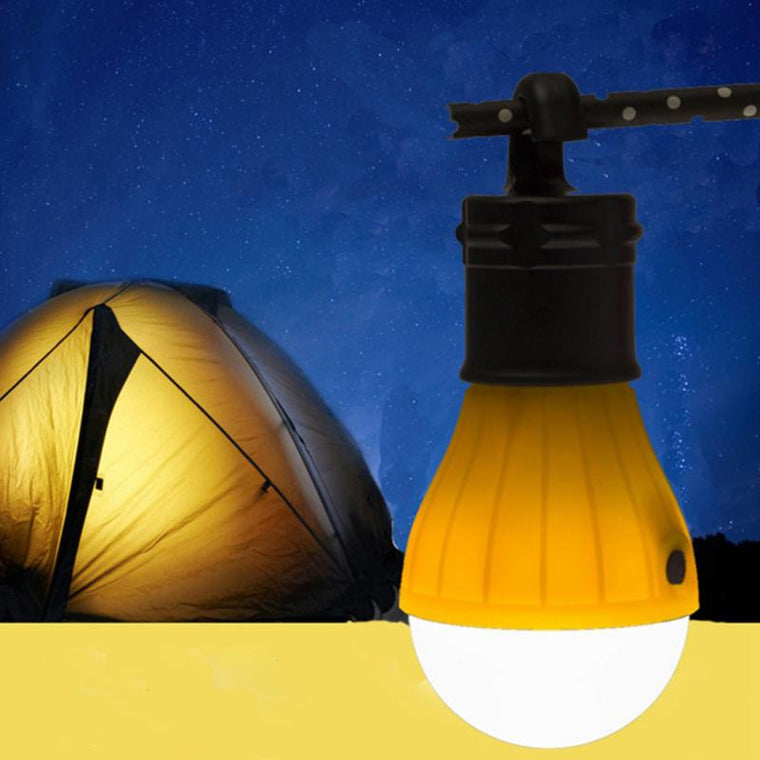 Outdoor Portable Hanging LED Camping Tent Light Bulb Fishing Lantern Lamp Torch 2 Colors energy saving camping light