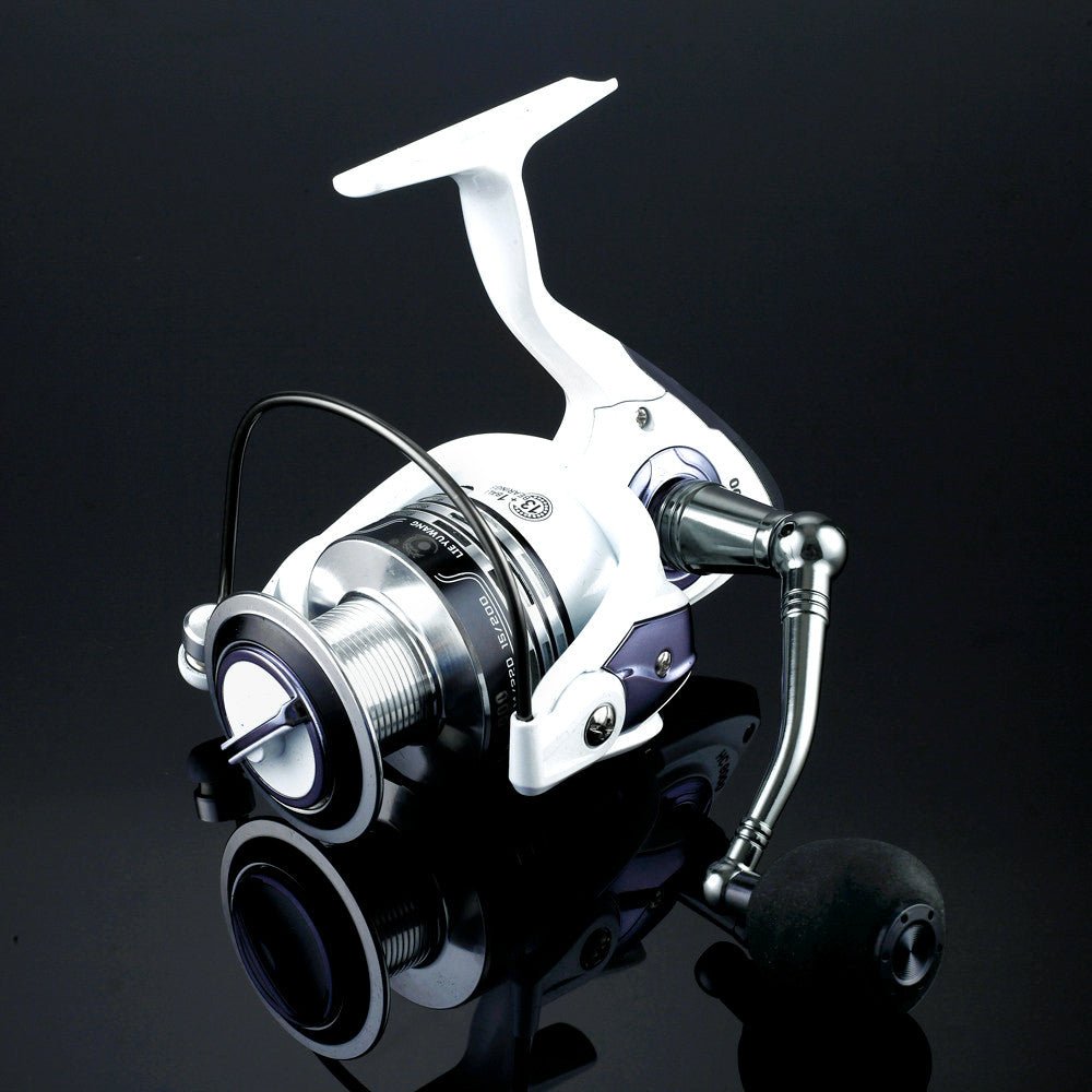 Top quanlity  Spinning Fishing Reel Carp Ice Fishing Gear 5.5:1 4.7:1 Real 13BB casting pole rock wheel