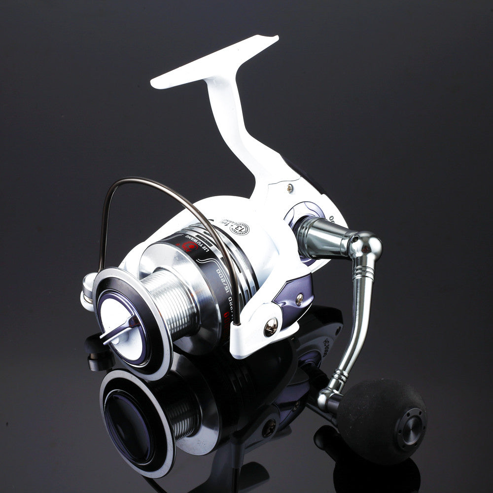 New Design Top quanlity Spinning Fishing Reel Carp Ice Fishing Gear 5.2:1 Real 13+1BB casting pole rock wheel