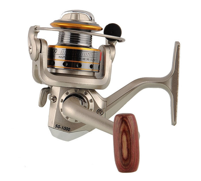 fishing reel SG1000A.1PC 6 BB 5.1:1 FR030 Carp Reel baitcasting saltwater baitcasting reel High Power Gear Spinning Spoon