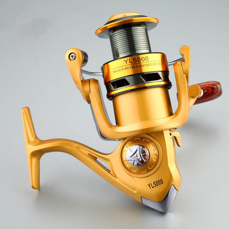 12BB 1000-6000 German Technology Series Spinning Fishing Reel Big Discount Fishing Reels Hot Sale For Feeder Fishing