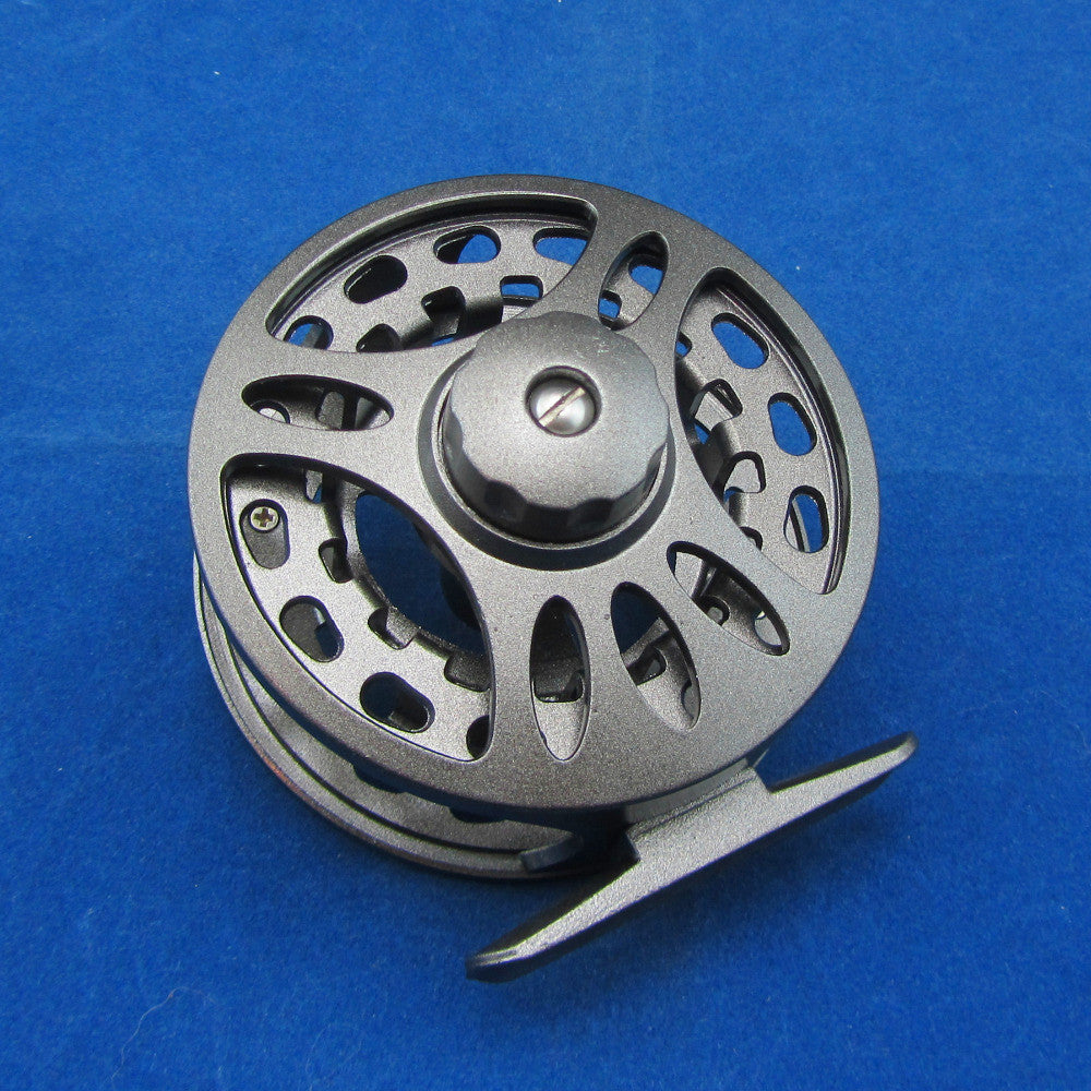 5/6 Aluminum Fly Fishing Reel Left and Right Handed Changeable Disc Drag System Reel Diameter 85mm
