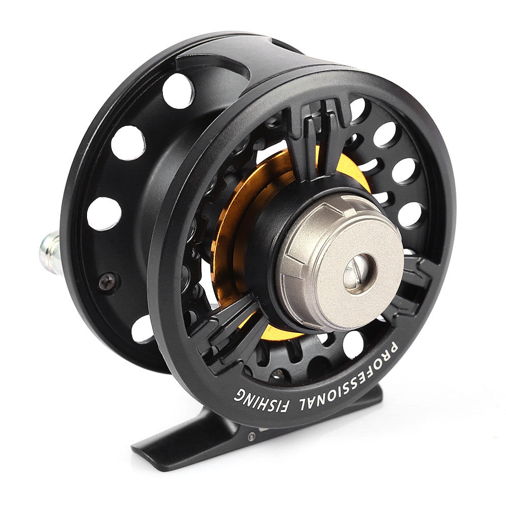 LEO FB75 Left Right Interchangeable Full Metal Fly Fish Reel Former Rafting Ice Fishing Wheel Metal Sea Lake Fishing