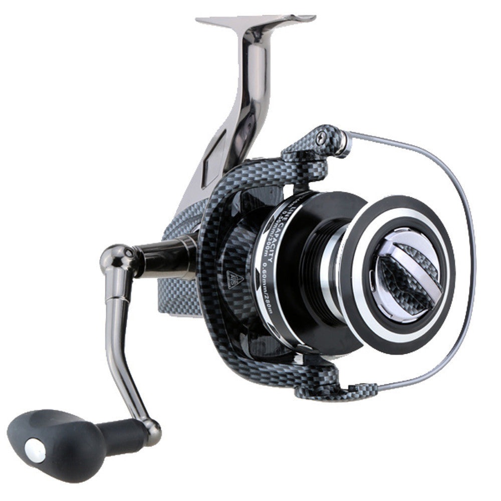 New Metal Spinning Fishing Reel 9000/10000 Series 12+1BB 4.9:1 Pesca Right Left Hand Inter-changeable Front Drag Oversized Wheel