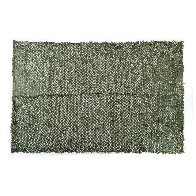 Hunting Camping Camo Net 3X4m Woodland Leaves Camouflage Net Jungle Leaves Camo Net For Military Car Shade Cloths Cover