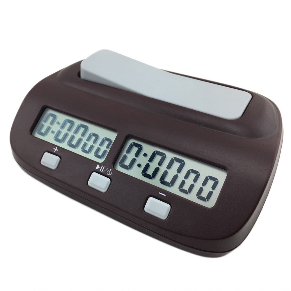 Compact Digital Chess Clock Count Up Down Timer Electronic Board Game Bonus Competition Master Tournament Hot