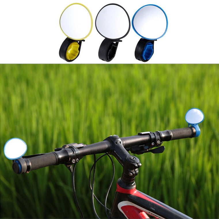 Adjustable 360 Degree Rotatable Handlebar Rear View Mirror Cycling Bicycle Bike