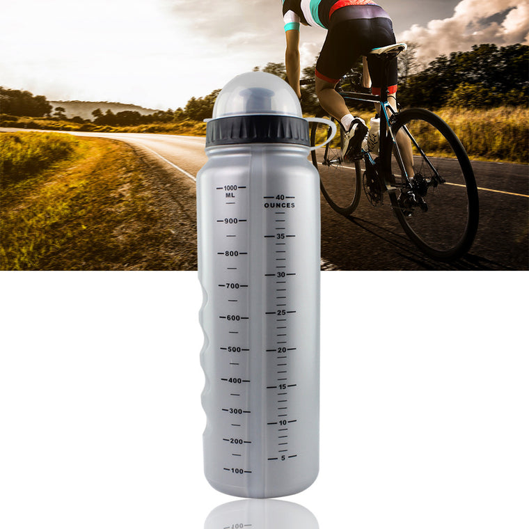 1000ml Bike Bottle For Water Portable Plastic Cycling Water Bottles With Dust Cover Bike Accessories Outdoor Sports Bottle