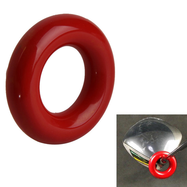 New Red Round Weight Power Swing Ring for Golf Clubs Warm up Training Aid  ISP