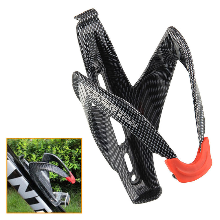 Carbon Fiber Durable Road Mounting Bicycle Bike Cycling Outdoor Water Bottle Holder Holding Rack Cage Lightweight New