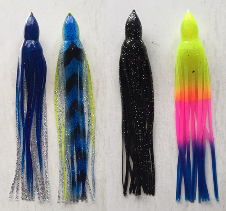 10 inch Octopus Bait soft Fishing Lure fishing tackle sea trolling lures tuna lure skirt bait