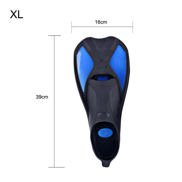 Shoes For Swimming Fins Men/women Underwater Hunting Flippers  Diving Equipment Submersible Diving Foot Monofin Full Foot Pocket